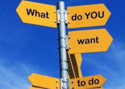 Εσύ ξέρεις τι θέλεις; Είναι απαραίτητο στοιχείο ώστε να μπορέσεις να γίνεις ευτυχισμένη!